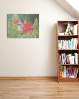 "Glezna ""Kaimiņu māja. 2014"""