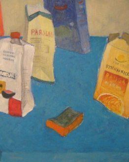 "Glezna ""Papīra klusā daba. 2015"""