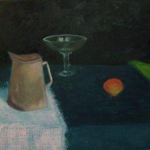 """Glezna """"Klusā daba. 2015"""""""