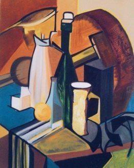 "Glezna ""Kubisma stilā"""