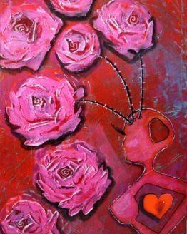 "Glezna ""Mīlestības Dieviete"""