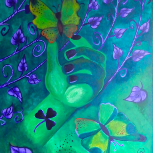 Ilzes Kalvānes gleznas