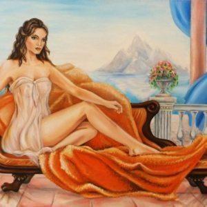 Aļonas Savickas gleznas