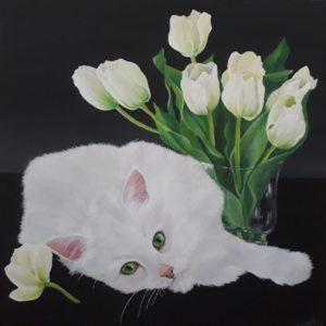 Lauras Liepiņas gleznas
