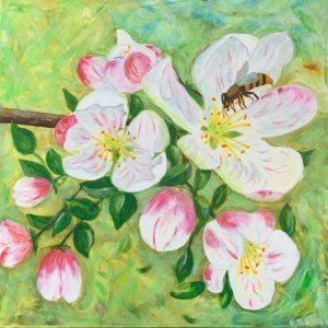 Vijas Jesinas gleznas