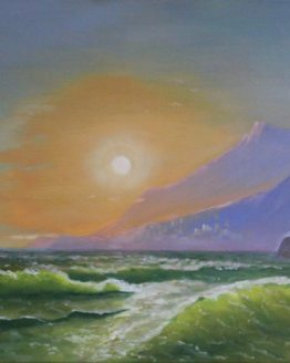 Jelenas Lebedevas- Dvoreckas gleznas
